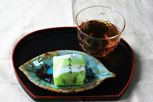 抹茶と餡子とクリームの絶妙なバランス
