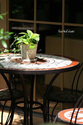 素敵なテーブル