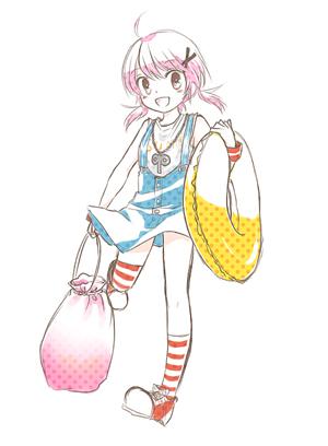 絵がないとあれかなと思って…らくがき。夏服可愛いね。個人的にはイリルコソマピンが好きです。イリルコのお嬢様風が良いし、ソマピンのラフな感じがたまらないw