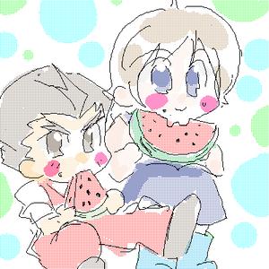 すいかが食べたいです。