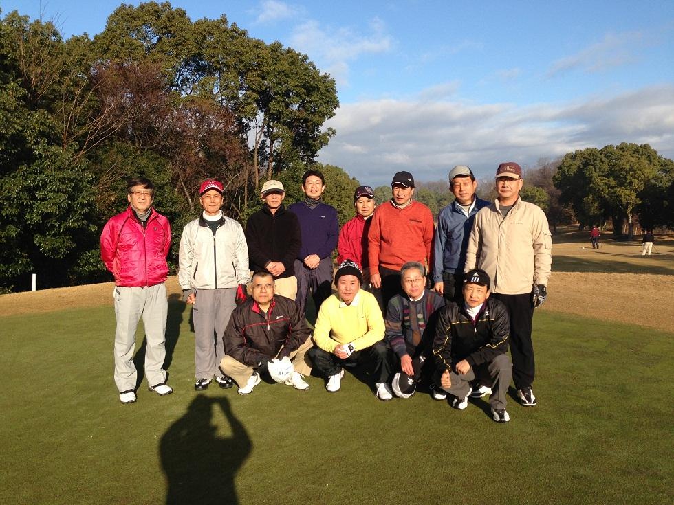 平成24年忘年ゴルフ大会