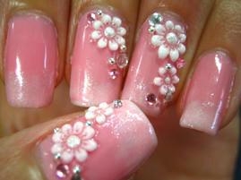 自爪24久々のピンク