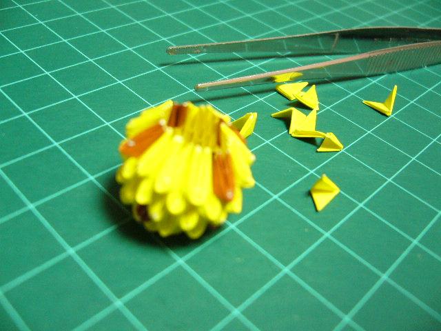 ハート 折り紙 : ブロック折り紙 折り方 : nurumayu.blog.shinobi.jp