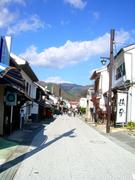 勝山の城下町