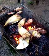 タケノコ焼き