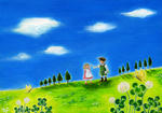 草原の風景