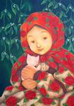 ヤドリギと薔薇の少女
