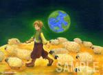 月面羊飼い