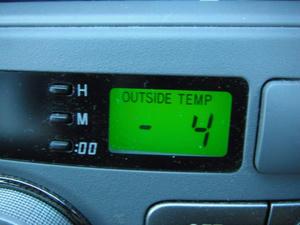 2012/02/03の朝の気温