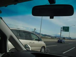 車中から富士山2012/03/24