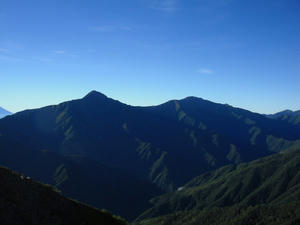 北岳と間ノ岳