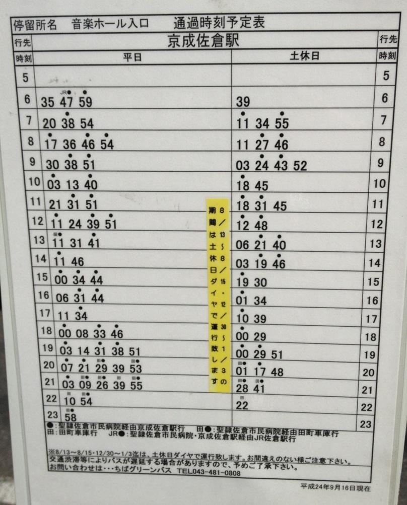 千葉 グリーン バス 運行 状況