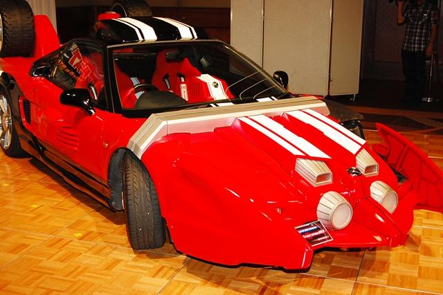仮面ライダードライブ 車種 NSX