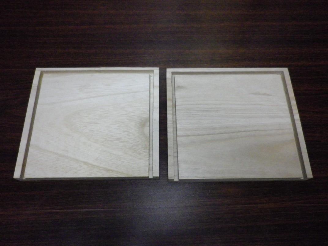 底板部分の制作(2枚合わせ)