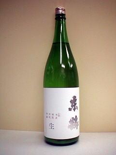 東鶴・特別純米無濾過生原酒・荒走り(備前雄町)