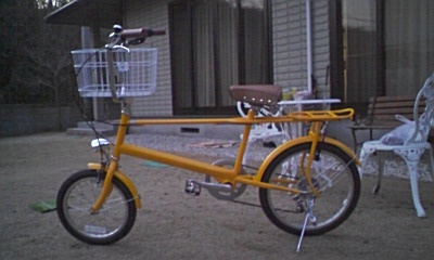 自転車こちら。