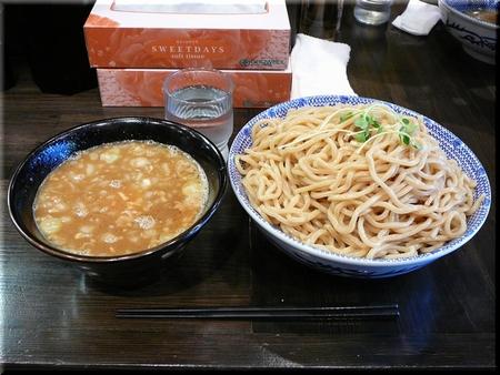 濃厚煮干しつけ麺(メガ)