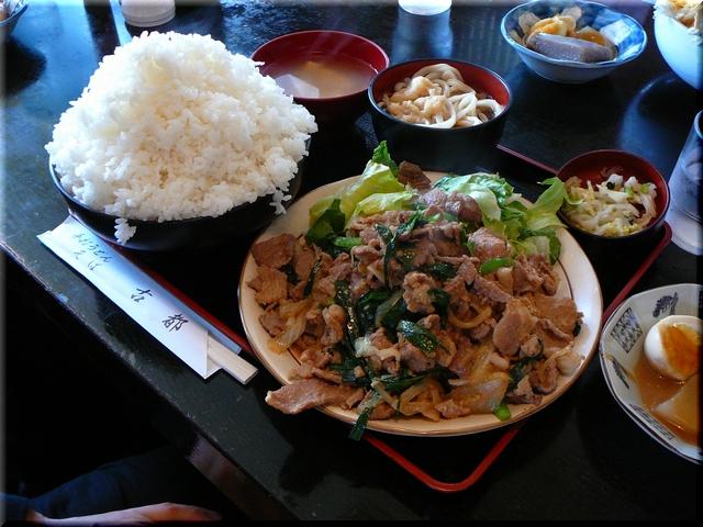 スタミナ定食(大盛り) ¥1075