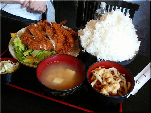 チキンカツ定食(大盛り)