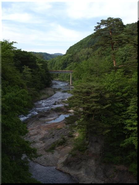 吹割渓谷上流