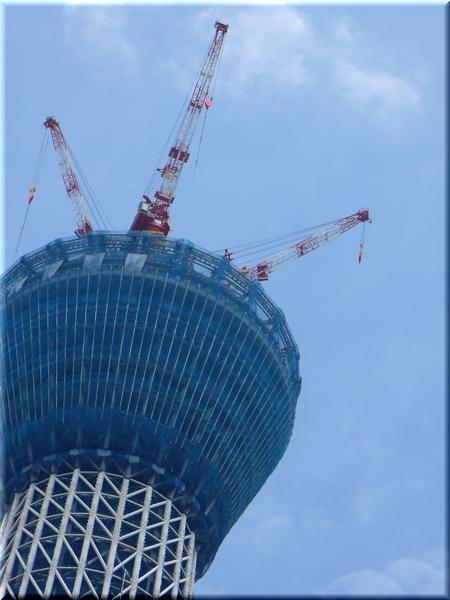 東京スカイツリー(10/6/19 撮影)