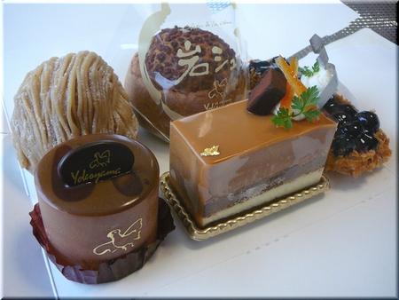 ケーキ5種類