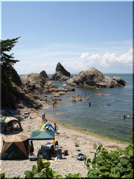 眼鏡岩海水浴場