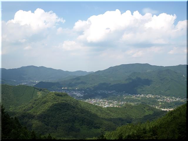 北東の景色(長瀞町)