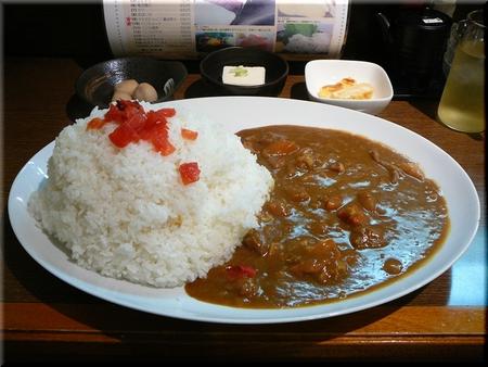 入谷マウンテンカレー(大盛り)
