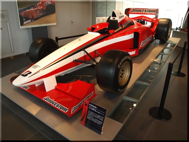 F1テストカー
