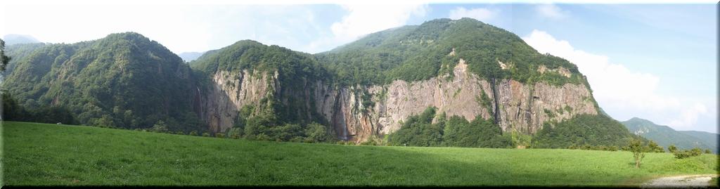 米子大瀑布パノラマ