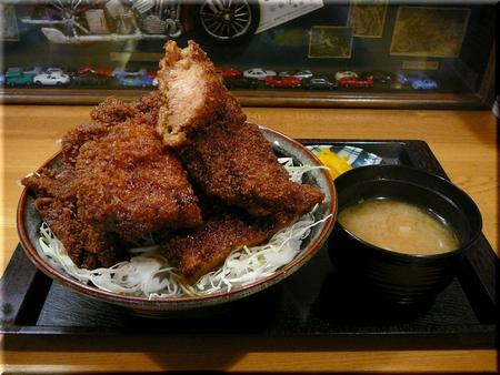 ソースかつ丼大盛り(ご飯大盛り)
