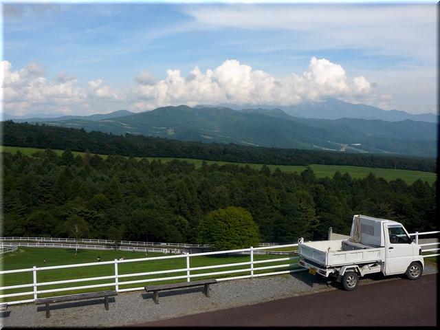 長野・山梨の県境 金峰山が目の前に