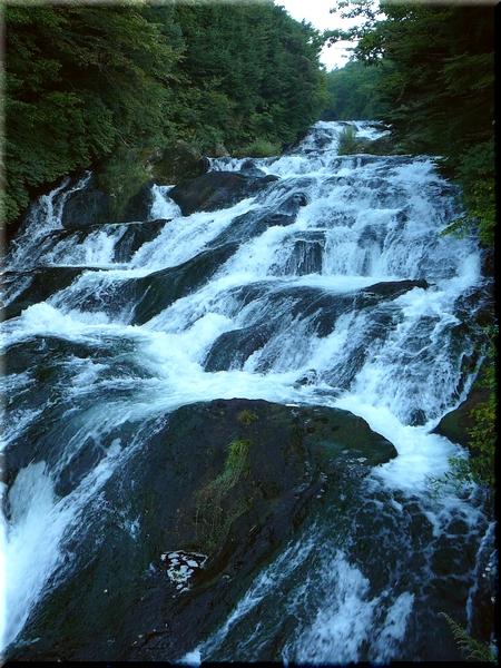 竜頭の滝・中腹