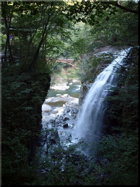 龍王神社&虹見の滝&虹見橋