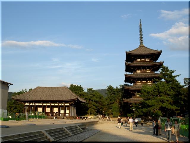 東金堂&五重塔(ともに国宝)