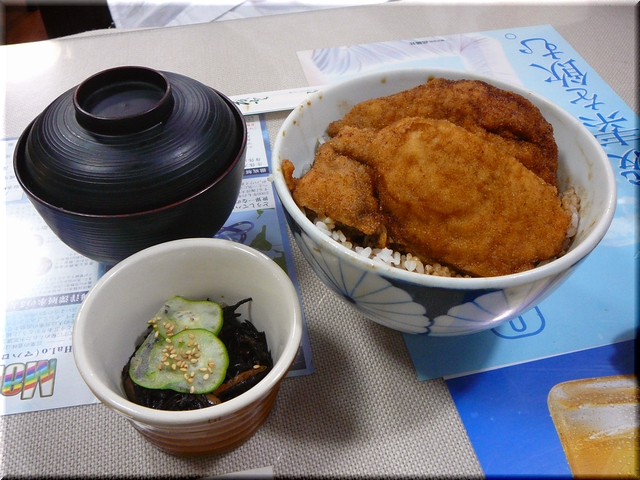 ロースカツ丼