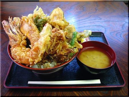 ばんや天丼(大盛り)