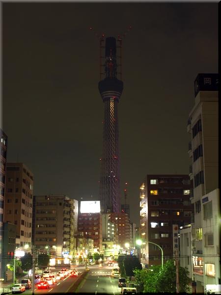 東京スカイツリー(10/10/13 撮影)