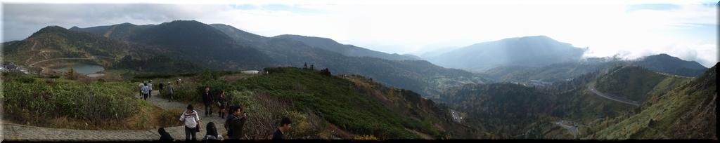 万座温泉&国道最高地点:山田峠