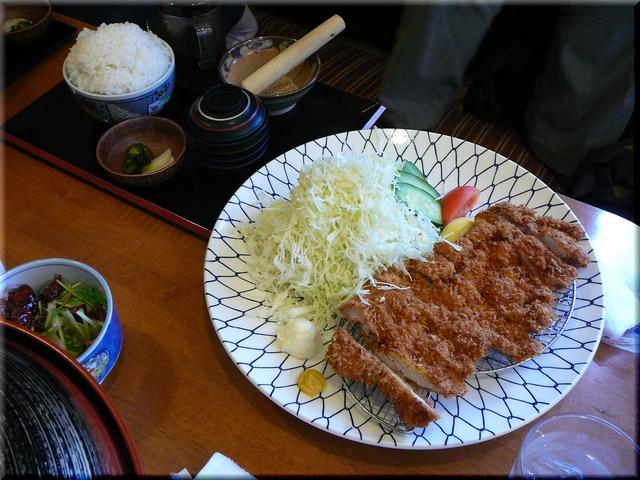 メガかつライス(大盛り)