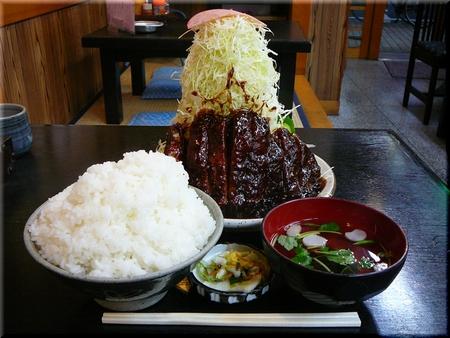 味噌カツライス(大盛り)