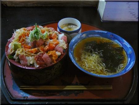 日替り海鮮丼(大盛りダブルダブル)