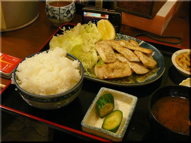 魚ソテー定食