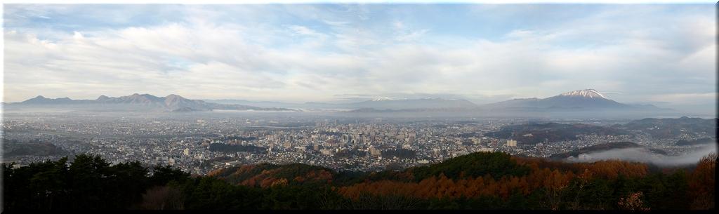 岩山展望台から景色