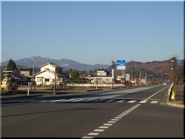 道の駅「厳美渓」からの景色