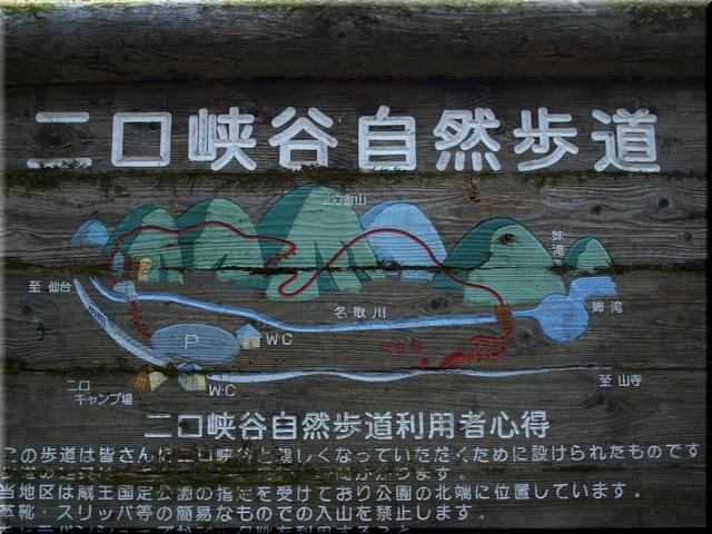 自然歩道案内図
