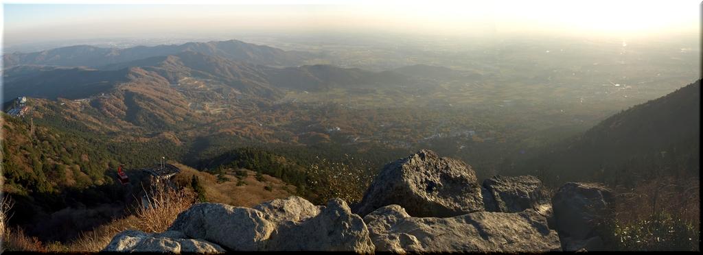 女体山山頂からのパノラマ