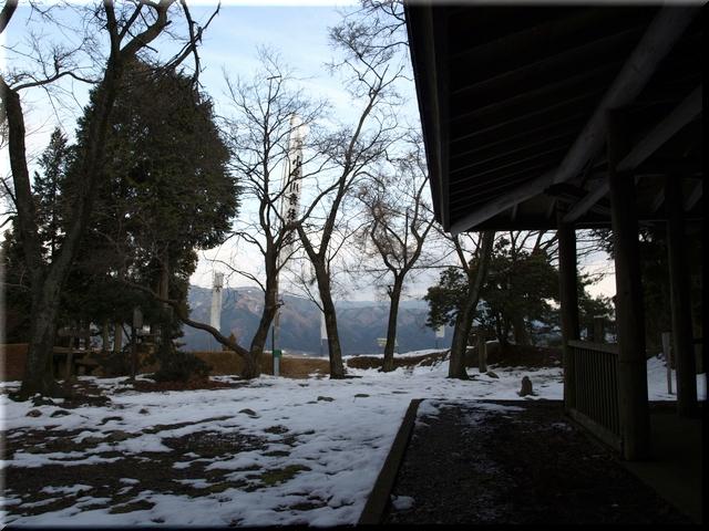 松尾山山頂