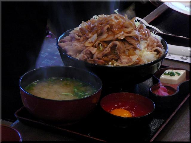 メガスタミナ焼肉丼